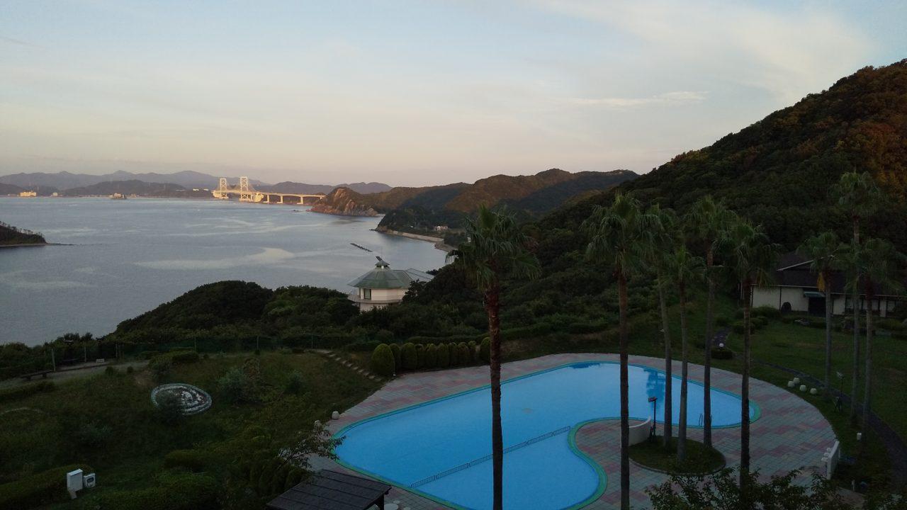 「ホテル&リゾーツ南淡路」から見える景色